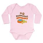 Dalmatian Mom Long Sleeve Infant Bodysuit
