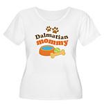Dalmatian Mom Women's Plus Size Scoop Neck T-Shirt