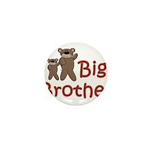 Big Brother Teddy Bears Mini Button