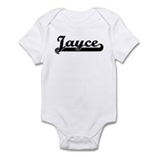 Black jersey: Jayce Infant Bodysuit
