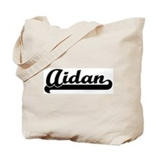 Black jersey: Aidan Tote Bag
