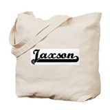 Black jersey: Jaxson Tote Bag