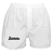 Black jersey: Teagan Boxer Shorts