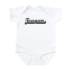Black jersey: Teagan Onesie