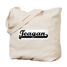 Black jersey: Teagan Tote Bag