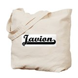 Black jersey: Javion Tote Bag