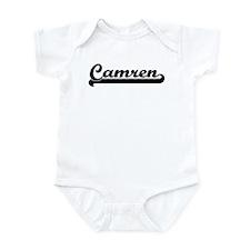 Black jersey: Camren Infant Bodysuit