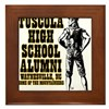 Tuscola High School Alumni Framed Tile