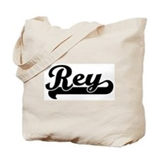 Black jersey: Rey Tote Bag