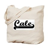Black jersey: Cale Tote Bag