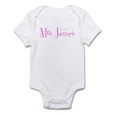 Mrs James Infant Bodysuit