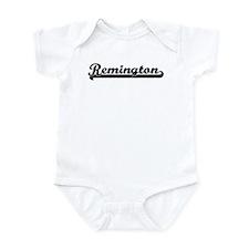 Black jersey: Remington Infant Bodysuit