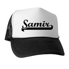Black jersey: Samir Trucker Hat