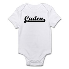 Black jersey: Caden Infant Bodysuit