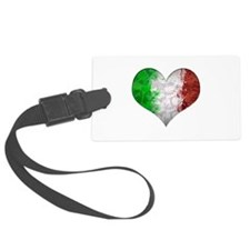 Italian Heart Luggage Tag