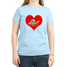 I Heart Caf-Pow of NCIS Fame T-Shirt