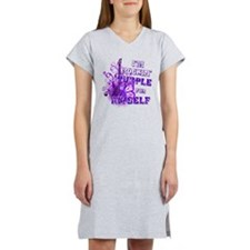 Im Rockin Purple for Myself.png Women's Nightshirt
