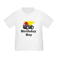 Dump Truck Birthday Boy T
