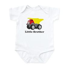 Little Brother Dump Truck Infant Bodysuit