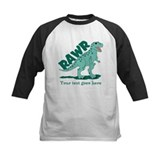 Personalized Green Dinosaur RAWR Tee