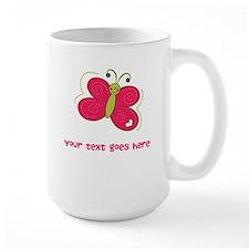 Personalized Cute Cartoon Butterfly Ceramic Mugs