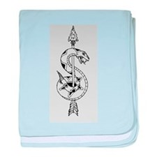Sniper Logo baby blanket