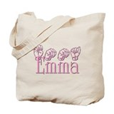 Emma in ASL Tote Bag
