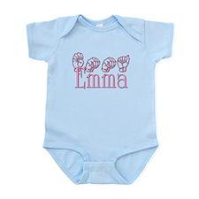 Emma in ASL Infant Bodysuit