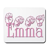 Emma in ASL Mousepad