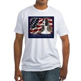 English Springer Spaniel Flag Shirt