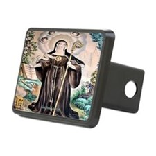 Saint Gertrude the Great Hitch Cover