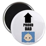 PROUD DAD Magnet (POINT TO DADS PICTURE ON FRIDGE)
