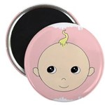 BABY FACE PINK Magnet
