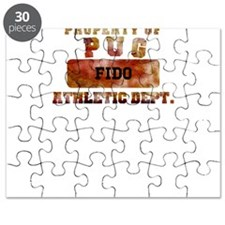 Personalized Prop. of Pug Puzzle