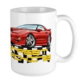 Trans am red Large Mug (15 oz)