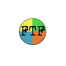 FTF Round Sticker Design Mini Button (10 pack)