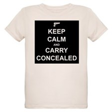 Keep Calm Carry Concealed T-Shirt