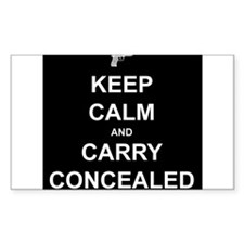 Keep Calm Carry Concealed Decal
