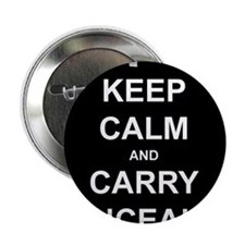 """Keep Calm Carry Concealed 2.25"""" Button"""