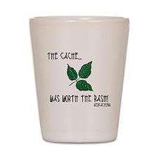 The Cache was worth the rash! Shot Glass