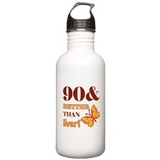 90 And Better Than Ever! Water Bottle