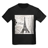 Vintage Paris Eiffel Tower T