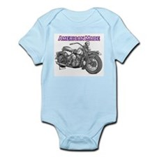 Harley Davidson Panhead motorcycle Drawing Infant