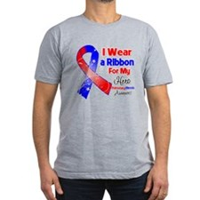 Ribbon Hero Pulmonary Fibrosis T