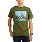 KNOTS Run Organic Men's T-Shirt (dark)