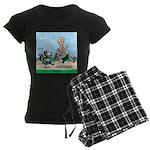 KNOTS Run Women's Dark Pajamas