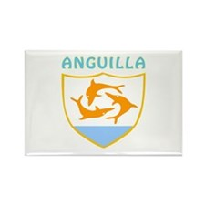 Anguilla Coat of arms Rectangle Magnet (100 pack)