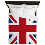 Funny British flag Queen Duvet