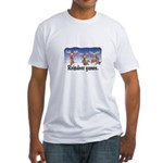 Reindeer Games Cartoon Fitted T-Shirt