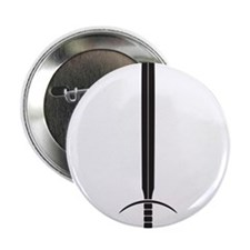 "Simple Sword 2.25"" Button (100 pack)"